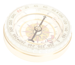compass for being human transparent